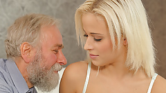 DADDY4K. Old and young sex experiment is a birthday gift...