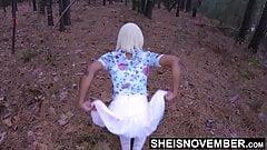 Msnovember Big Natural Ebony Tits Nipples Sucked & Crawling