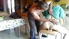me hairy sarah dildoing with an older man