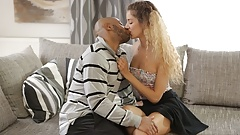 BLACK4K. Monique Woods works as maid but wants to get BBC