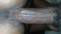 Young slutty college bbw talked into just the tip by bbc