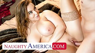Naughty America - Alex misses Natasha Nice's massive tits