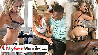 MILF Marina Beaulieu anal sex with BBC