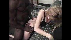 Skinny blonde milf get fucked and creampied by bbc