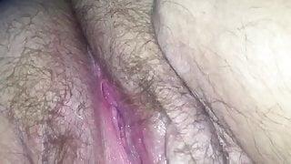 Fingering that fat wet pussy