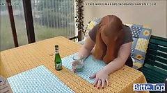Betrunkener Rothaariger BBW get Fick