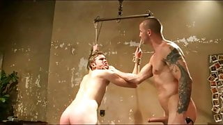 College jock gets bound and used by janitor