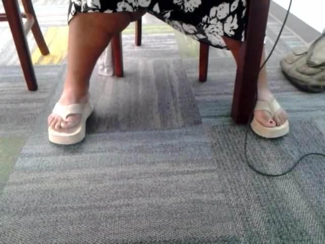 Ebony Feet Pussy Squirt