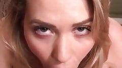 Mia Malkova Hot Blowjob