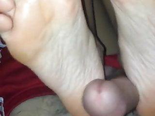 Big cock italian Italian princess wraps feet around big cock