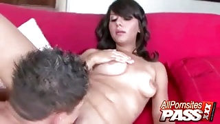 Cock Sucking Alana Leigh Fucked