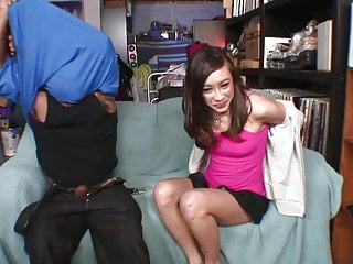 Young asian preacher Young asian gets her tight slit fucked by black dong