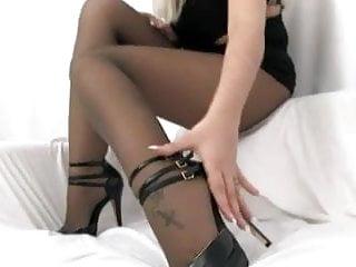 Seductive valentine lingerie live help Sheer nylon seduction