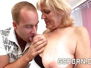Very senior granny facials Mature blonde granny fucking very hard