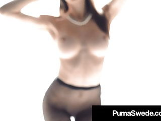 Puma party unity my ass Tongue fucking threesome with puma swede nina elle tiffany
