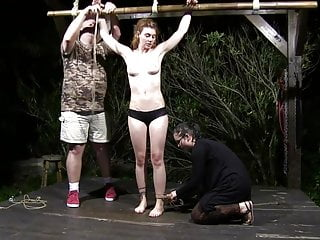Muriels nudes Night whipping session for muriel laroja