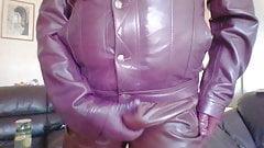 Full cherry leather