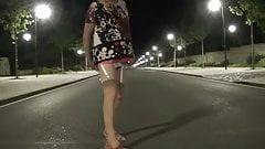 transgender travesti dildo anal lingerie  outdoor  12