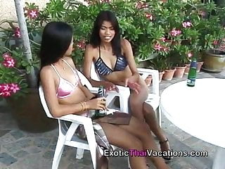 Girl shemale thailand - Hot lesbian thailand girls in action