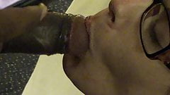 wife eats two bbc cumloads