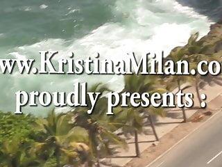 Milan fichte gay Kristina milan in red