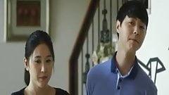 Korean mom with son