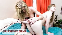GirlfriendsFilms - Dolly Leigh Scissor Fucked By Busty MILF