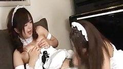 2 futanari maids