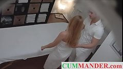 BLONDE GERMAN BABE ENJOYS SEX