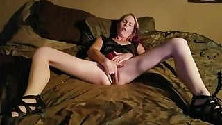 My Hot wife Masturbating for me