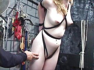 Captured sex slaves Young blonde is captured as sex slave.