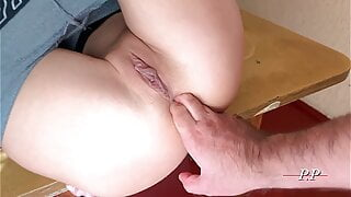 Homemade porn for students in the dorm