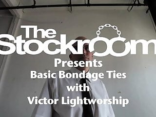 The stockroom bondage gear The wrist tie with victor lightworshp and skin diamond