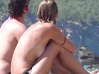 Young teen nude beach - Ibiza incredible 03 hd brunnette spanish teen nude