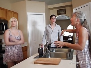 Gay roleplay videos Freeze n shut up - threesome taboo roleplay