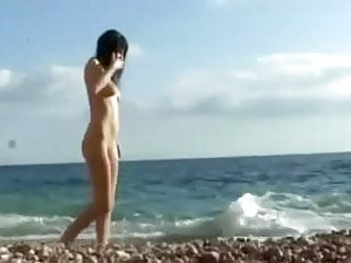 Russian young nudists - Russian teen nudist shaving masturbating on nude beach