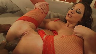 Nailing Mrs Claus Ass - Martina Gold butt fucked by a BBC