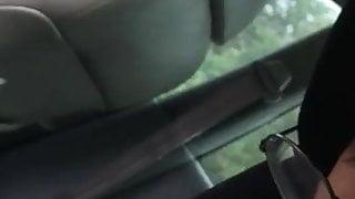 Malay blowjob in car