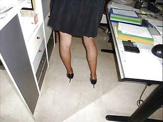 High heel erotic fetish stories - Super erotic office 12