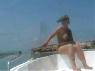 Stepmom naked on internet Naked stepmom at the boat