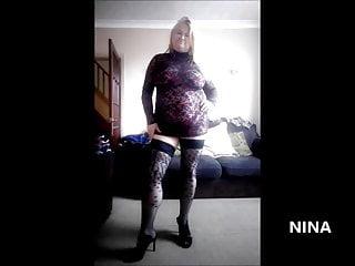 Ninas sexy legs Sexy granny nina