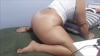 Cock came in slipping so horny
