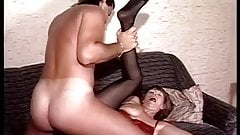 Old ass with young man