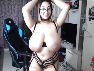 Latinas with natural boobs Very nice big boobs on webcam girl 6