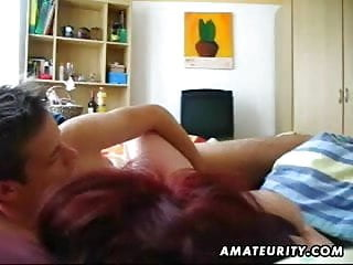 Girlfriend with big tits - Amateur girlfriend with big tits gets facial cumshot