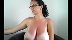 Beautiful Tanlines on this Milf