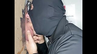 DIQSUQR - Swallowing the moaning, hung policeman!