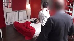 Jordi and Ainara: A threesome with their own landlord!
