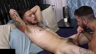 Handsome stud with HUGE COCK