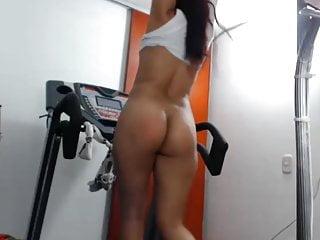 Penis sound videos Tight latina walking on treadmill with ohmibod no sound